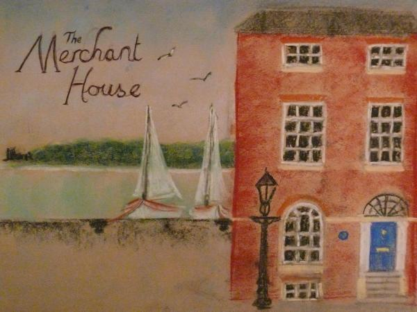 The Merchant house painted by David Biggs
